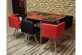 Stół + 6 krzeseł - ZESTAW DALLAS - Szybkie RATY