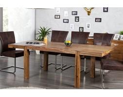 IiNTERIOR Lagos Drewniany Stół Rozkładany 120cm do 200cm x 80cm Drewno Palisander lakier półmat - i20976