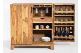 Kare Design Authentico Drewniany Barek Drewno Palisander lakier półmat 90x100 cm - 76453