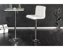IiNTERIOR Modena Hoker Biały Skóra Ekologiczna 90-110x45x48cm - i15394