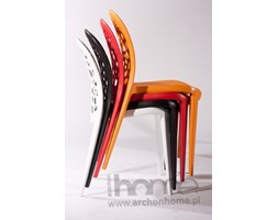 Krzesło Bladder czerwone - inspirowane Dandelion Chair, archonhome.pl