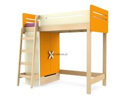 Łóżko piętrowe lewe - Timoore - Simple Orange