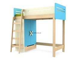 Łóżko piętrowe lewe - Timoore - Simple Blue