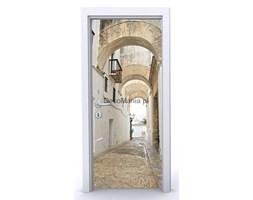 Naklejka na drzwi ND553 - Wąska uliczka 4