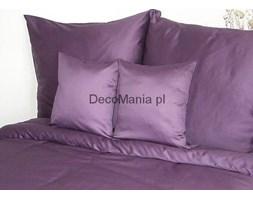 Pościel satynowa - Andropol - jednobarwna fiolet