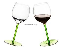 Kieliszki bujające do wina - Sagaform - Bar - zielone