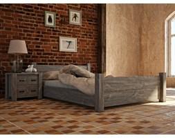 Łóżko drewniane rustykalne Country 27 90 cm