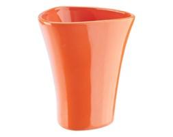 Kubek łazienkowy Silvia, pomarańczowy.