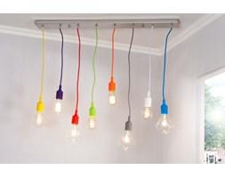 IiNTERIOR Colorful Bulbs Lampa Wisząca 8 Żarówek - i22865