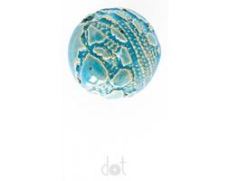 Gałka koronkowa - niebieska