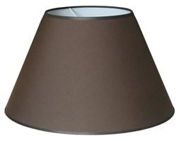 Abażur do lampy brązowy średnica 45 cm