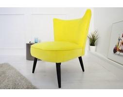 IiNTERIOR Fotel Retro Sixties żółty - i35021