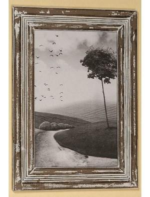 Dekoria Ramka Julie wisząca na zdjęcie 30x40cm drewno postarzane