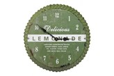 Kare Design Kare Design Zegar Ścienny Kapp Zielony (4025621301677)
