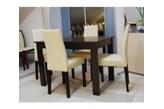 4 szt. krzesło Reset AKRM firmy BRW+ stół 70/110-140