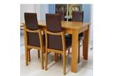 4 szt. krzesło TOP firmy BRW + stół 70/110