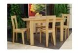 Zestaw Black Red White Avenue 4 krzesła + stół 70 x 75 x 110 cm