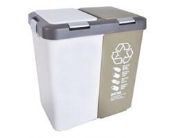 Plastikowy kosz do segregacji odpadów DUO BIG