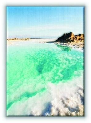 Martwe Morze - Obraz na płótnie