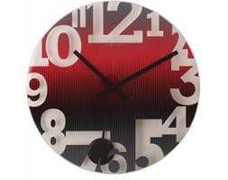 NeXtime Anytime - Zegar ścienny - Swing - czerwony - 8127 RO