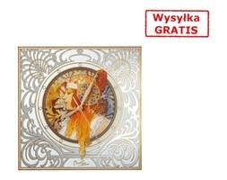 Zegar Blondynka Alphonse Mucha