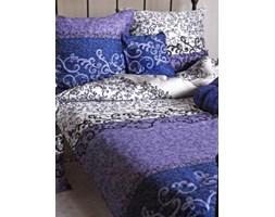 Pościel satyna bawełniana Essential Collection wrzosowo-fioletowa 200x220