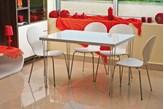 Zestaw mebli - stół PAULO 80x80 i krzesła W-93 - WYSYŁKA GRATIS ! - Profesjonalna Obsługa - Najniższe Koszty