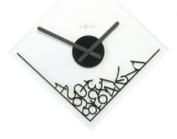 NeXtime Simple Times - Zegar ścienny - Dropped Numerals - 2039